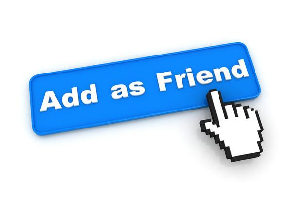 Facebook friends COLOURBOX