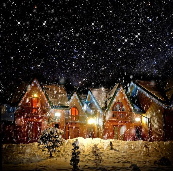 Christmas House Volodymyr Burdiak  Shutterstock